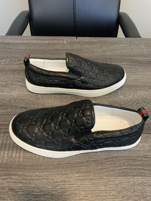 Brand New Gucci Signature Slip On Sneaker Men's Size 9.5 for Sale in Queen Creek, AZ