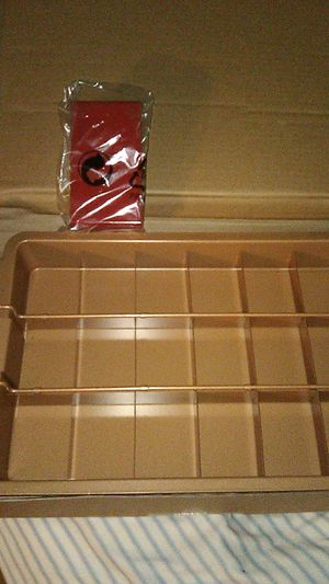 Brownie pan red copper for Sale in Tampa, FL
