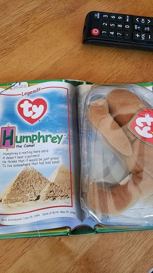 McDonald's beanie baby legends Humphrey the camel for Sale in Temecula, CA