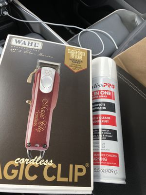 WAHL MAGIC CLIP CORDLESS HAIR CLIPPERS for Sale in Los Angeles, CA