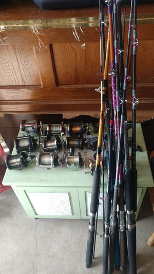 Fishing rods and reels for Sale in Kirkland, WA