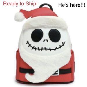 Loungefly Disney Santa Jack Mini Backpack Hard to Find! for Sale in Orlando, FL