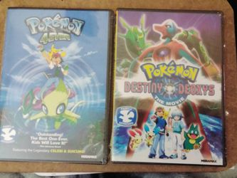 POKEMON 4EVER & POKEMON DESTINY DEOXYS THE MOVIE DVDS BRAND NEW FACTORY SEALED UNOPENED! for Sale in Yakima,  WA