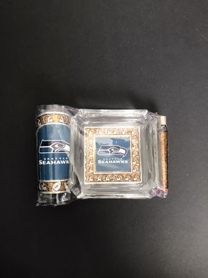 Seattle Seahawks ashtray set for Sale in Los Angeles, CA