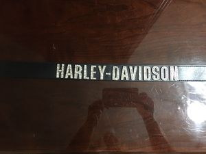 Harley Davidson Unisex Belt Genuine Leather and Rhinestones for Sale in Stockbridge, GA