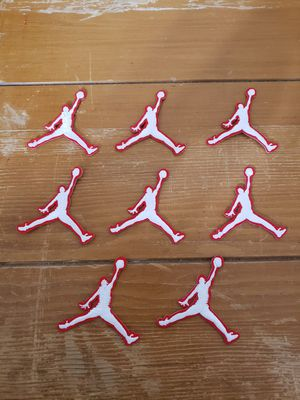 NIKE Air Jordan patch lot of 8 new Iron on for Sale in Los Angeles, CA