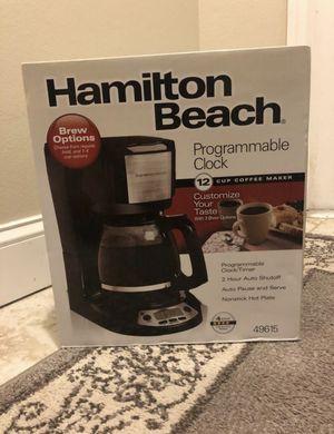 Hamilton Beach coffee maker for Sale in New Port Richey, FL