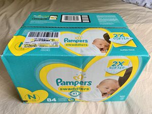 Newborn Diaper Box Brand New for Sale in Sterling, VA