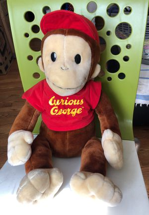 Curious George stuffed animal for Sale in Baldwin Park, CA