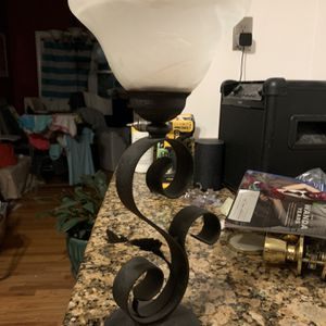Candle Holder Metal/glass for Sale in Revere, MA