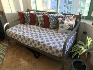 Daybed frame and mattress for Sale in Jersey City, NJ