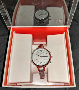 Fossil Hybrid Smartwatch - Annette Stainless Steel for Sale in Frederick, MD