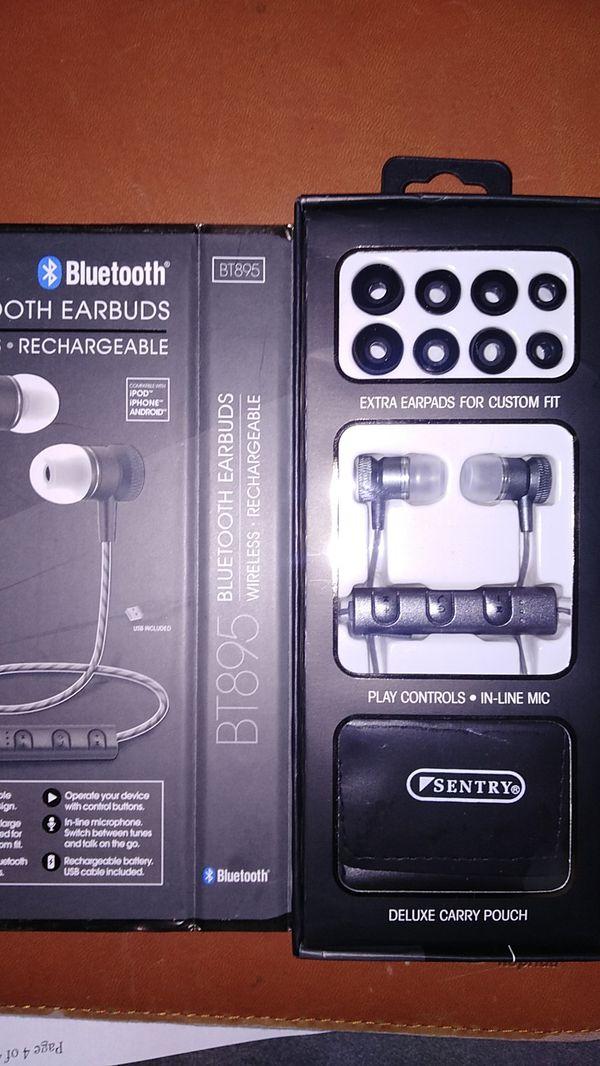 BT895 Bluetooth earphones