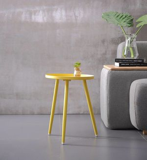 Oslo Yellow Side Table for Sale in Miami, FL