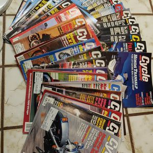 36 Vintage 1987-1990 Cycle Magazines for Sale in Elma, WA