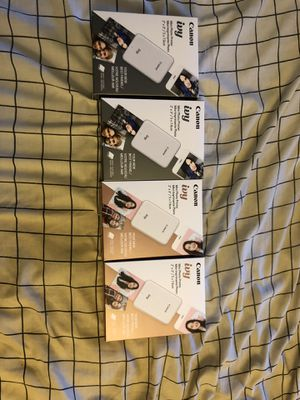 Brand new canon ivy mini portable Bluetooth wireless photo printer for Sale in Anaheim, CA