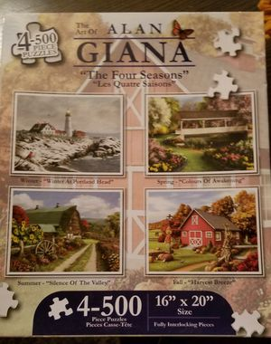 Four Seasons Puzzles for Sale in Buffalo, NY