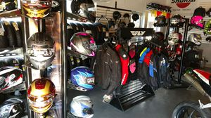 Motorcycle gear We finance 100 days same as Cash Any Credit ACCEPTED! for Sale in Pinellas Park, FL