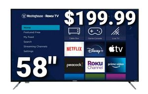 "WR58UX4019 58"" Westinghouse uhd 4k roku tv for Sale in Montclair, CA"