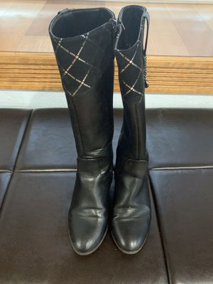 Michael Kors Girls riding boots size 1 for Sale in Summerfield, FL