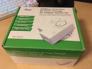 Homeplug Powerline Networking for houses with bad wifi! for Sale in Phoenix, AZ