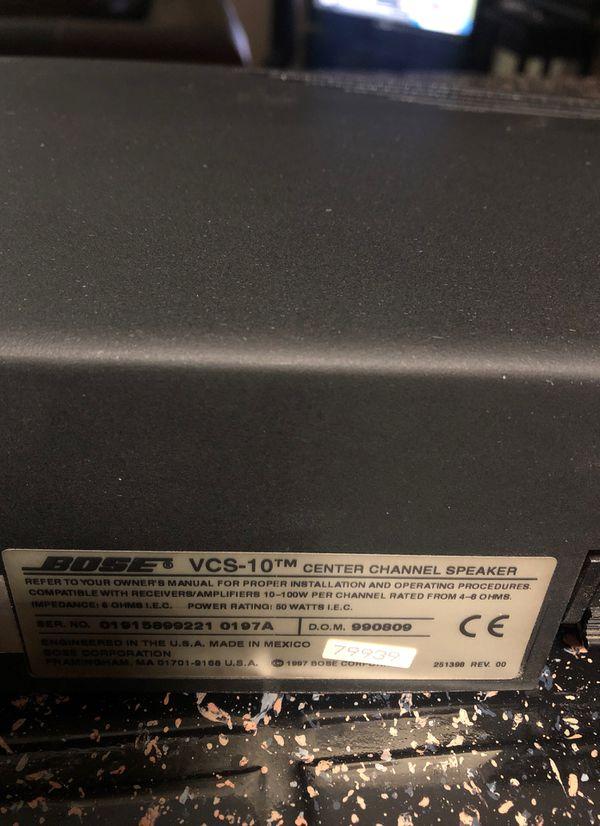 Bose center channel speaker