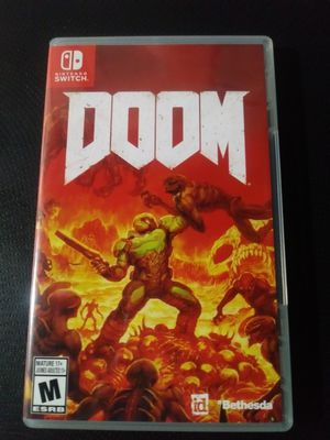 DOOM - Nintendo Switch Version for Sale in Cleveland, OH
