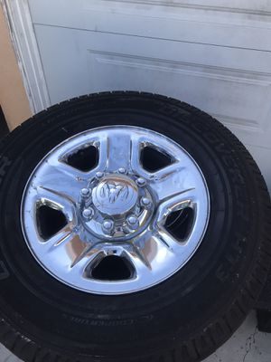 2014 dodge ram 2500 rims for Sale in Pomona, CA