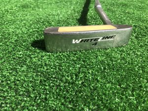 White Line 4 golf Putter new Lamkin grip for Sale in Chino, CA