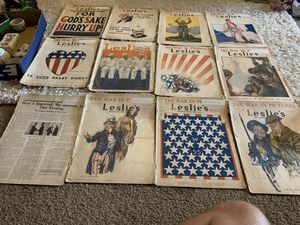 1918 Leslie's newspapers for Sale in Marion, IL