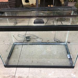 Complete 20 Gal Aquarium Set Up for Sale in Burbank, CA