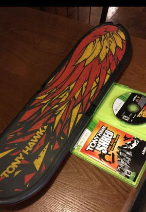 Xbox 360 Tony Hawk shred game and board for Sale in Glen Burnie, MD