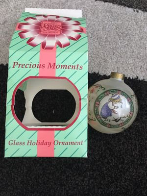 Vintage glass precious moment ornament for Sale in St. Peters, MO