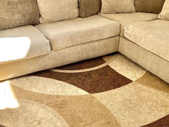 Family Couch And Matching Rug for Sale in Kissimmee,  FL