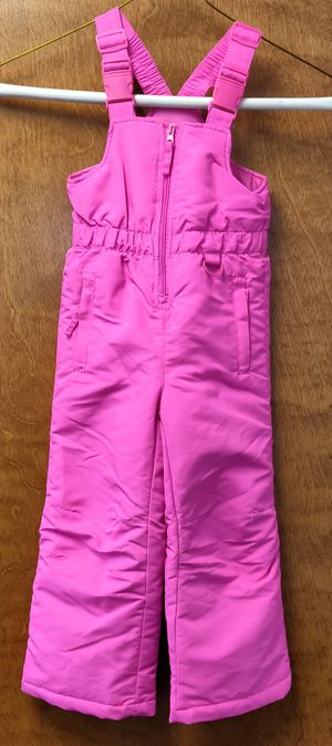 Snow bib/overalls-girls small size (4) for Sale in TN OF TONA, NY