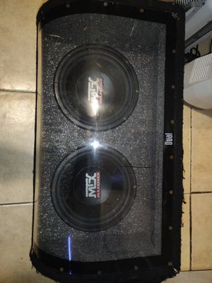 MTX subwoofer for Sale in San Francisco, CA