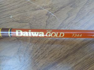 Never used Daiwa V.I.P. Gold Model 7344 Fly-fishing Rod only for Sale in Hamilton Township, NJ