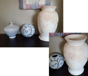 Ceramic plant flower pots vases for Sale in San Jose, CA