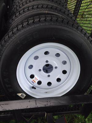 Trailer Tires w/Rims BRAND NEW 175/80/13 for Sale in Deltona, FL
