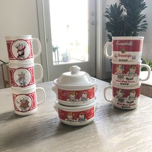 Vintage Campbell Soup Collection for Sale in Irvine, CA