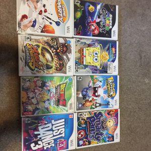 Wii Games for Sale in El Cajon, CA