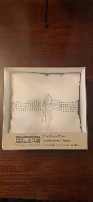 Wedding Ring Bearer Pillow for Sale in Chicago, IL
