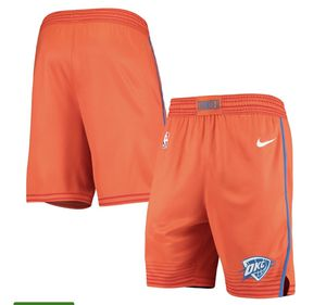 Oklahoma City Thunder Nike 2019/20 Alternate Swingman Shorts - Statement Edition for Sale in Northumberland, PA