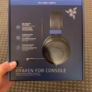 Gaming Headset - Razer Kraken for Sale in Menlo Park, CA