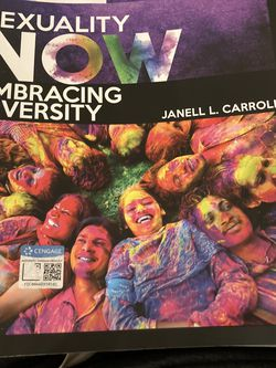 Sexuality Now: Embracing Diversity Textbook for Sale in San Diego,  CA