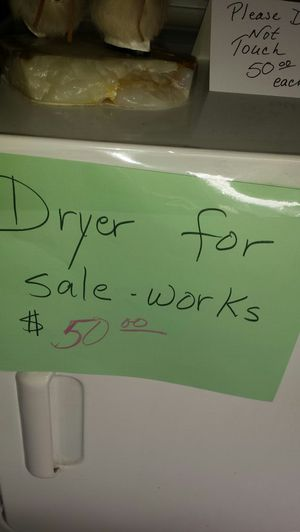 GW Dryer works for Sale in Puyallup, WA
