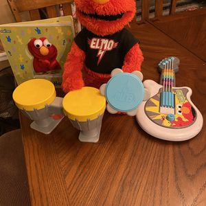 Talk and Sing Elmo for Sale in Mukilteo, WA