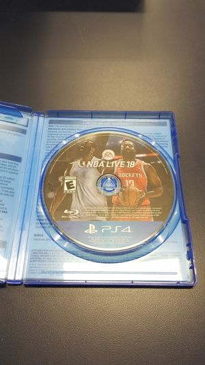 PS4 NBA Live 18 (777929-11) for Sale in Tacoma, WA