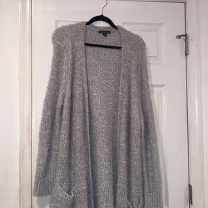 Sweater Cardigan White And Grey XXL for Sale in Baltimore, MD