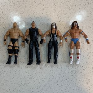 WWE 2011 Mattel Wrestling Action Figures for Sale in Mesa, AZ